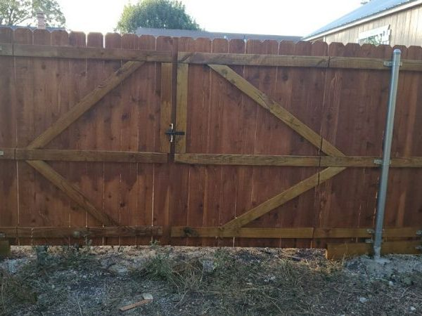 gates in privacy fence